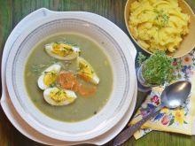 Zielona zupa czyli szczawiowa
