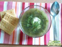 Zielona zupa ze szpinakiem