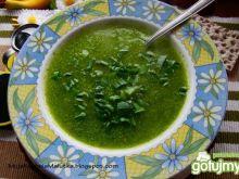 Zielona zupka cukiniowa