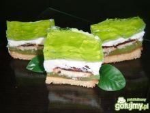 Zielone ciasto - tzw shrek