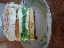 Zielone ciasto z jabłkami