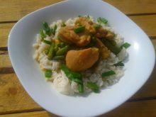 Zielone curry z kurczakiem