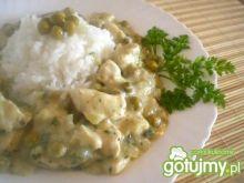 Zielone drobiowe curry