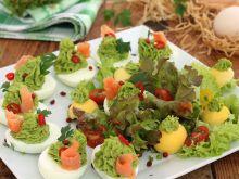 Zielone jajka z groszkiem