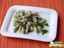 Zielone kluseczki ze szpinakiem