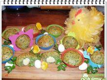 Zielone muffinki Eli z niespodzianką