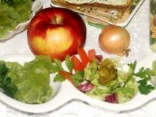 Zielone pierogi z kaszą i cebulką prażoną