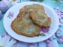 Zielone placki ziemniaczane z młodych ziemniaków