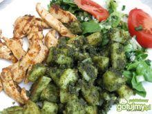 Zielone ziemniaczki z kurczakiem