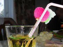 Zielono - żółty drink