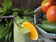 Zielony koktajl wiosenny