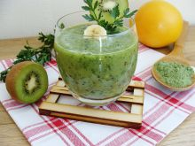 Zielony koktajl zdrowia