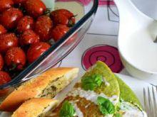 Zielony omlet z warzywami