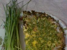 Zielony omlet ze szczypiorkiem