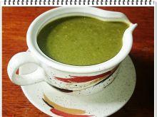 Zielony sos Eli z liści kalarepy