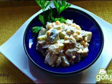 Ziemniaczana sałatka z kukurydzą