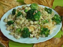 Ziemniaczane kluseczki z brokułem