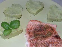 Ziemniaczane puree z pesto bazyliowym