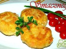 Ziemniaczano-marchewkowe kotleciki