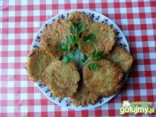Ziemniaczano - marchewkowe placki