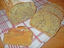 Ziemniaczany chleb z piwem i siemieniem lnianym