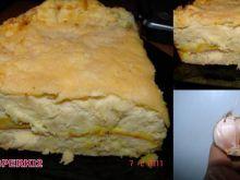 Ziemniaczany serowo-mięsny przekładaniec