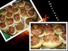 Ziemniaczki faszerowane mięsem mielonym