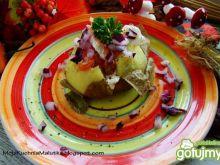 Ziemniaczki nadziewane łososiem i fetą