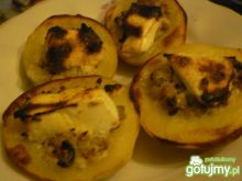 Ziemniaczki pieczone nadziewane fetą