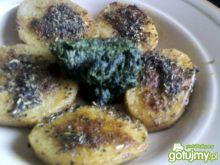 Ziemniaki curry ze szpinakiem