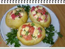 Ziemniaki Eli faszerowane pomidorami i fetą