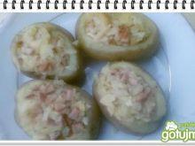 Ziemniaki Eli z grilla z parówką