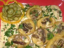 Ziemniaki faszerowane grzybami :