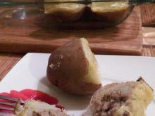 Ziemniaki faszerowane mielonym mięsem