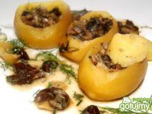 Ziemniaki faszerowane pieczarkami Buni