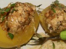 Ziemniaki faszerowane tymiankowym kurczakiem