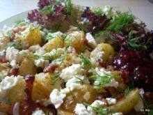 Ziemniaki na ciepło, z serem bałkańskim