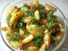 Ziemniaki pieczone Pyzy