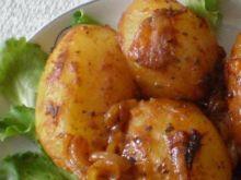 Ziemniaki pieczone w rękawie foliowym :