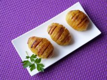 Ziemniaki pieczone z boczkiem