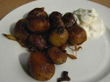Ziemniaki pieczone z cebula