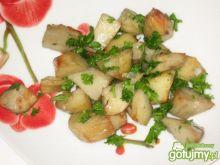 Ziemniaki pieczone z natką