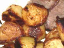 Ziemniaki pieczone z pietruszką :