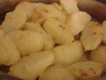 Ziemniaki pieczone ze smalcem i cebulką