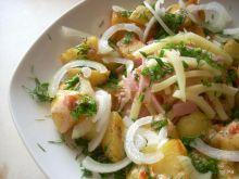 Ziemniaki smażone sałatkowo