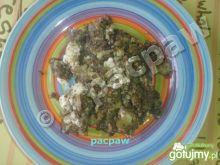 Ziemniaki smażone z kaszanką i jajkiem
