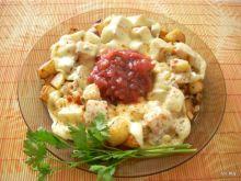 Ziemniaki smażone z oscypkiem
