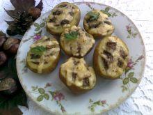 Ziemniaki w mundurkach faszerowane grzybami
