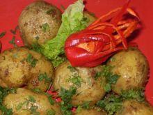 Ziemniaki z bulionu z rozmarynem :