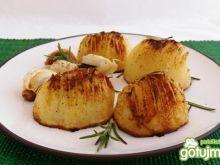 Ziemniaki z czosnkiem i rozmarynem